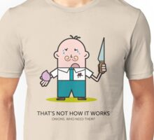 Mr. White Collar - Onions Unisex T-Shirt
