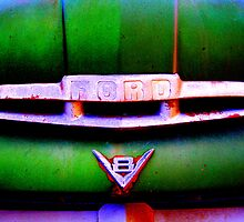 Green Ford - Forgotten Beauties - Montana by Monica DeShaw