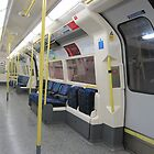Northern Line Train Emptiness by ellismorleyphto