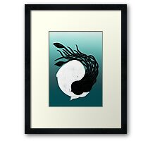 Sea Frenemies Framed Print