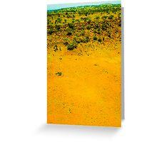 living desert Greeting Card