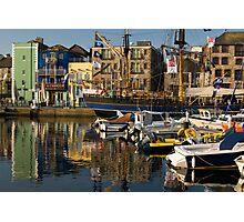 Plymouth Barbican UK. Photographic Print