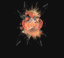Orange Heart Hoodie