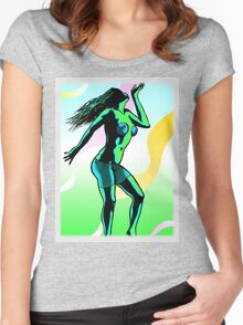 Cool Breeze Women's Fitted Scoop T-Shirt