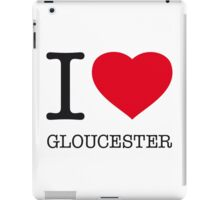 I ♥ GLOUCESTER iPad Case/Skin