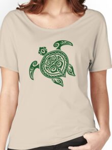 Tribal Turtle Women's Relaxed Fit T-Shirt