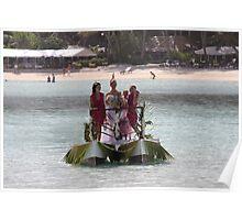Bridal Girls In Rarotonga Poster