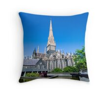 st Patrick Cathedral Throw Pillow