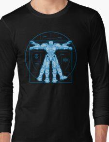 Vitruvian Jaeger Long Sleeve T-Shirt