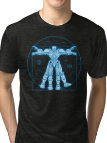 Vitruvian Jaeger Tri-blend T-Shirt