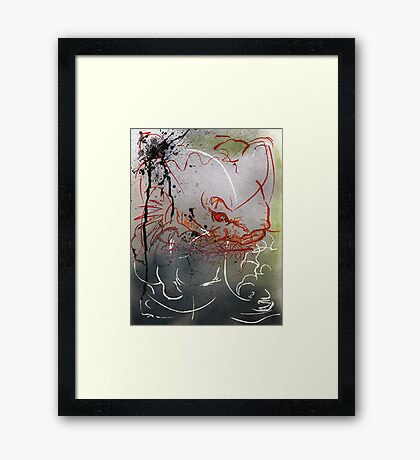 how to be koi with your lover Framed Print