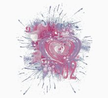 Pink Heart by Shelagh Linton