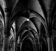 Cloisters by Lesley Williamson