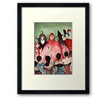 Masque Of The Red Death  Framed Print