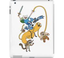 Adventure Time - Regular Show iPad Case/Skin