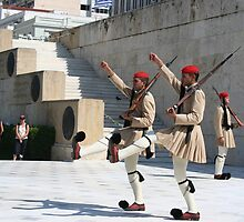 Greek Soldiers by katypryor