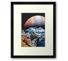 We Float Framed Print