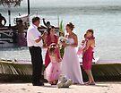 Bridal on the Beach by coffeebean