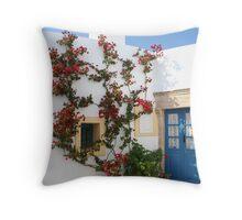 Mediterranean Home Throw Pillow
