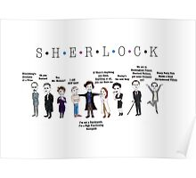 Sherlock Line up Poster
