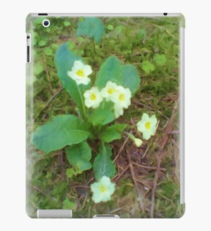 primrose Flower iPad Case/Skin
