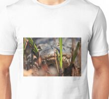 hiding in the swamp Unisex T-Shirt