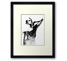 Portrait 5 Framed Print