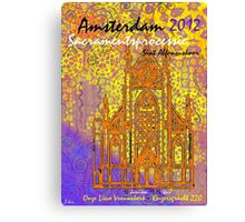 2012 AMSTERDAM WORKING Canvas Print