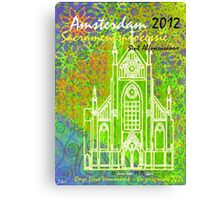 2012 AMSTERDAM RECYCLING Canvas Print