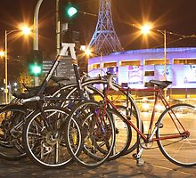 bicycles by Steve Scully