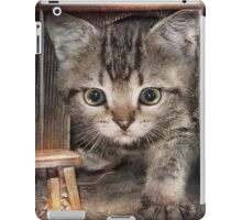 Who lives here iPad Case/Skin