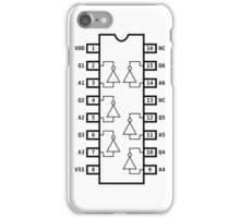 Not Gate Chip iPhone Case/Skin