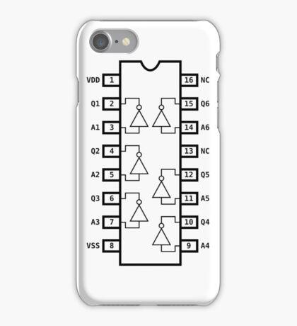 Not Gate Chip iPhone Case/Skin