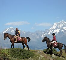 Mountain Transport - Aosta, Italy by nick9