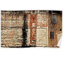 Urban texture Poster