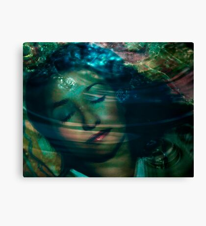 Sleeping In Dreams - the colours of my mind Canvas Print
