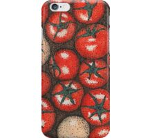Tomatoes point iPhone Case/Skin
