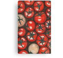 Tomatoes point Canvas Print