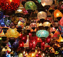 Turkish Lamps by IngridSonja