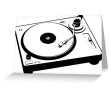 Turntable Greeting Card