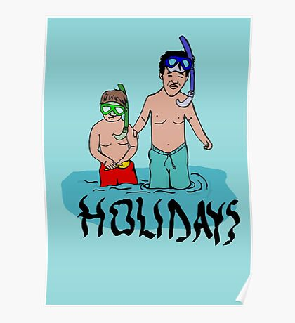Holidays kids Poster