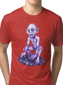 Gollum - Lord of the Rings Tri-blend T-Shirt