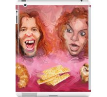 Shaun White and Carrot Top with Delicious Pastries iPad Case/Skin