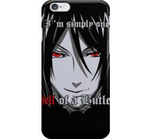 Black Butler Funny TShirt Epic T-shirt Humor Tees Cool Tee iPhone Case/Skin