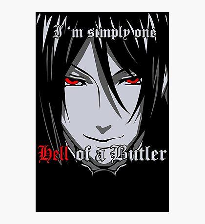Black Butler Funny TShirt Epic T-shirt Humor Tees Cool Tee Photographic Print