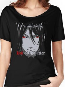 Black Butler Funny TShirt Epic T-shirt Humor Tees Cool Tee Women's Relaxed Fit T-Shirt