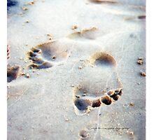 Leaving Your Mark © Vicki Ferrari Photographic Print