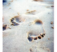 Leaving Your Mark © Vicki Ferrari Photographic Print
