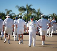 The Aussie Bowlers © by Vicki Ferrari
