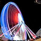 Wheel of Sheffield in Red by Jon Bradbury